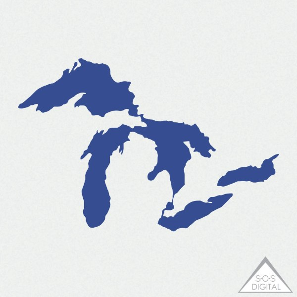 Great Lakes Clipart Michigan Clipart Great Lakes PNG State