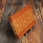 Maple Cherry End Grain Cutting Board Custom End Grain Cutting Board Butcher Block Chopping Block