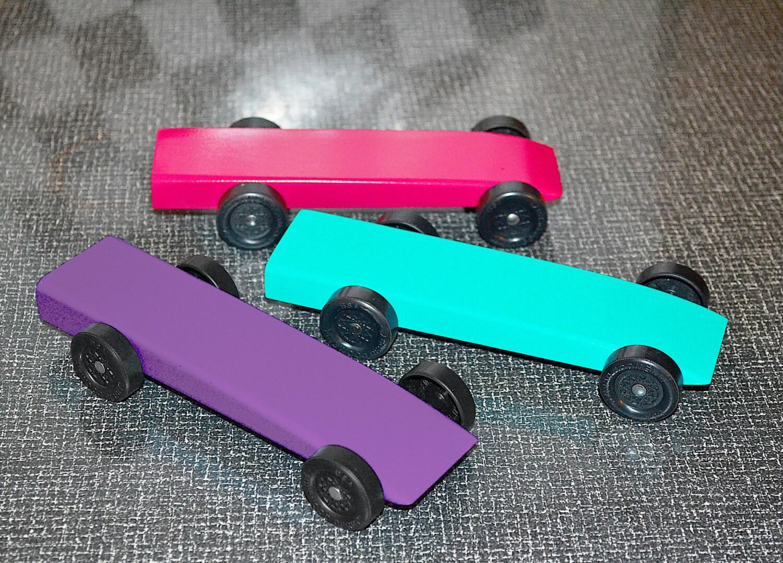 Girl Scout Derby Or Powder Puff Pinewood Derby Car Or