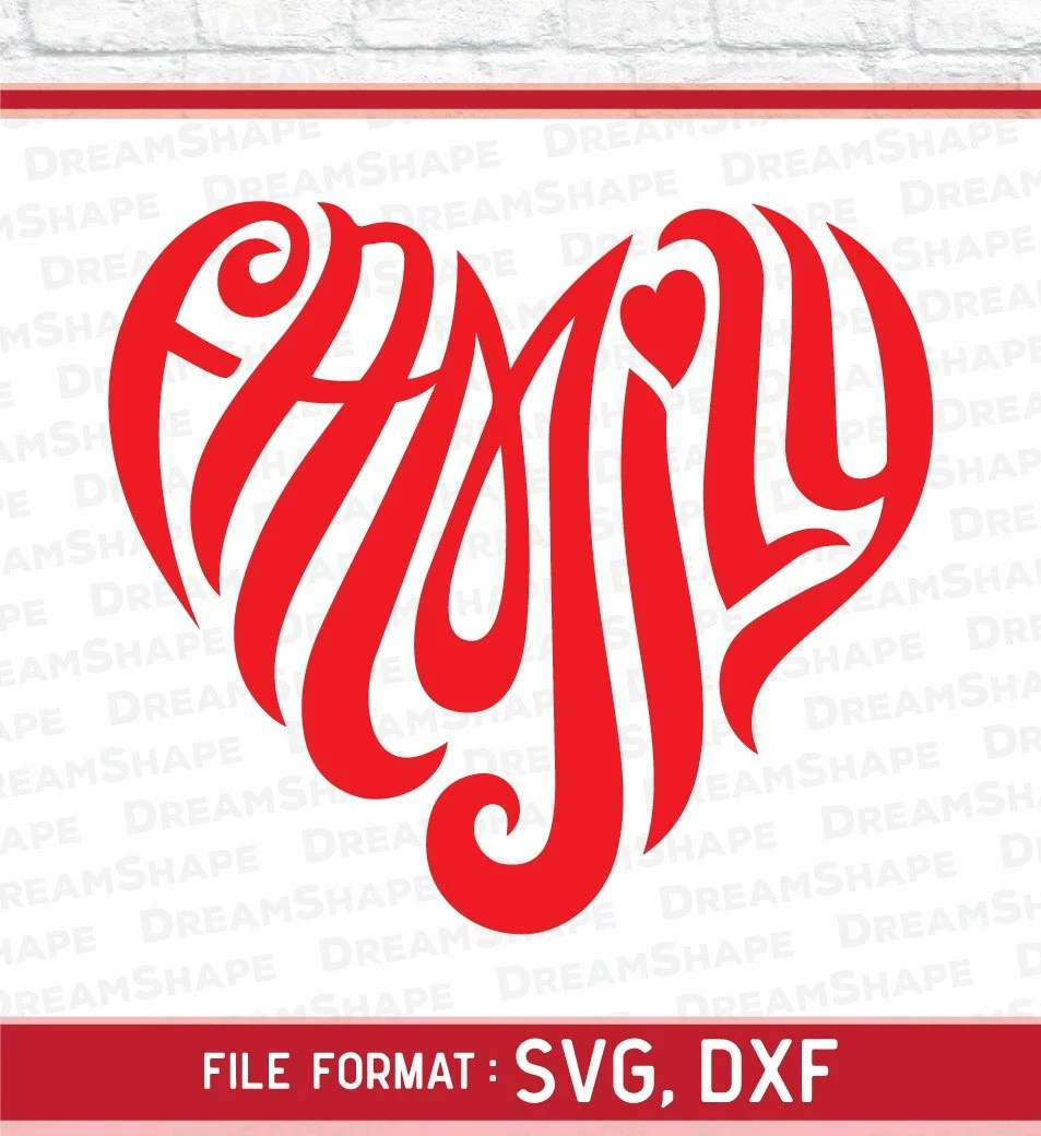 Download Love Family SVG Files Love Family Quotes Cut File Love SVG ...