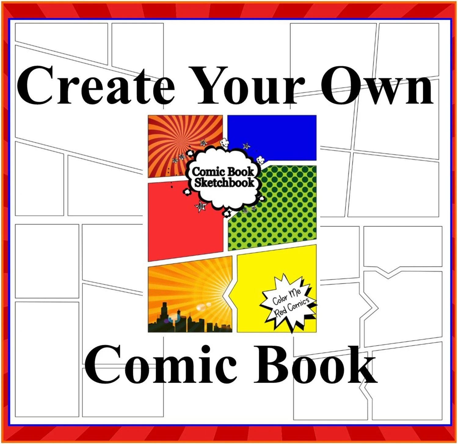 Draw Your Own Comics Create A Comic Book For Kids And