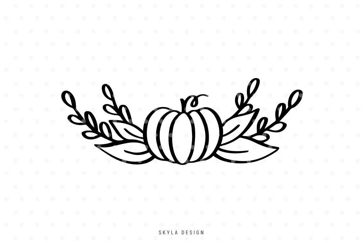 Pumpkin Svg Pumpkin Clipart Pumpkin Outline Fall Svg