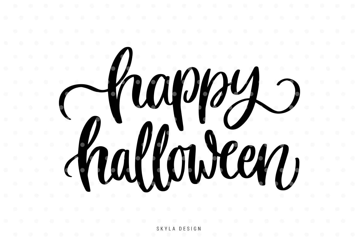 Happy Halloween Svg Cut Files Fall Svg Halloween Svg Files