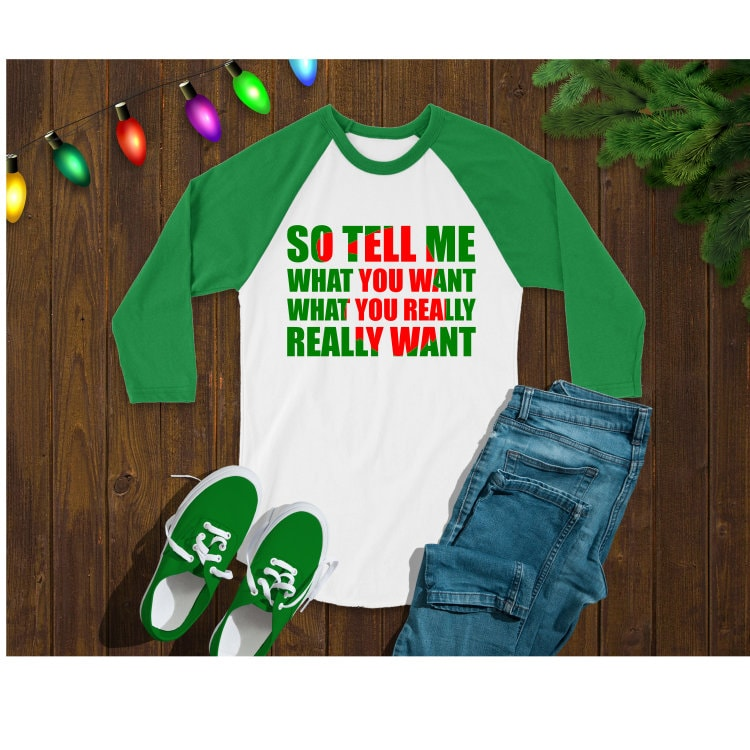 Download Christmas SVG santa clause tell me what you want what you ...