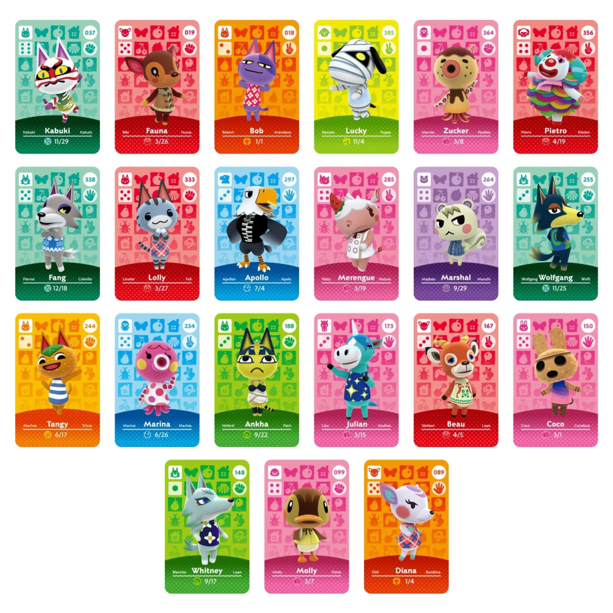 Tap the card to invite the depicted villager to your town! Animal Crossing: Custom Rare Villagers Amiibo Card   Etsy
