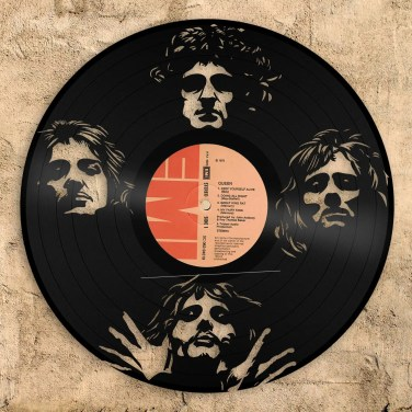 Queen vinyl wall art