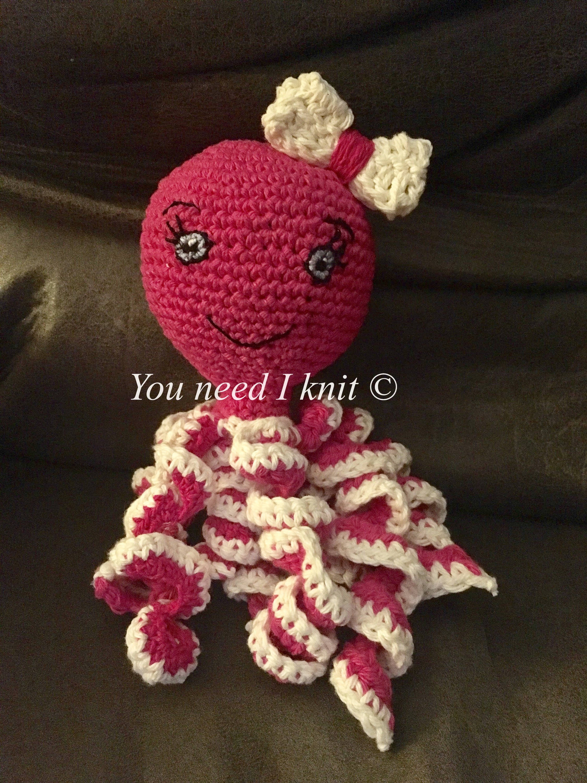 Premie octopus / Newborn ocotpus / baby preemie / crochet image 2
