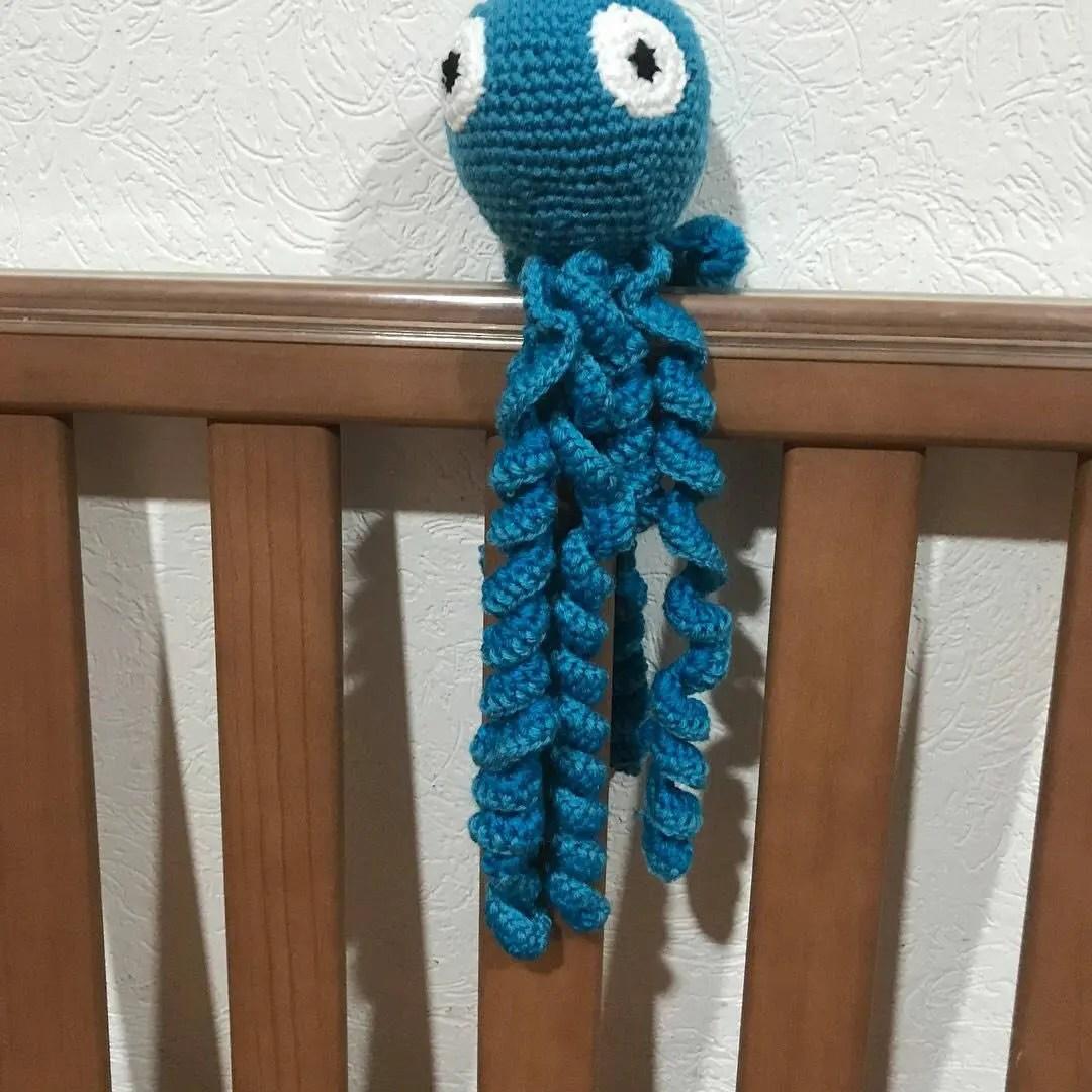 Premie octopus / Newborn ocotpus / baby preemie / crochet image 9