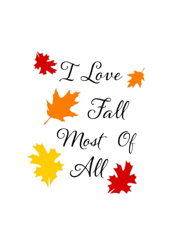 Download Fall svg I Love fall most of all svg fall leaves svg I ...