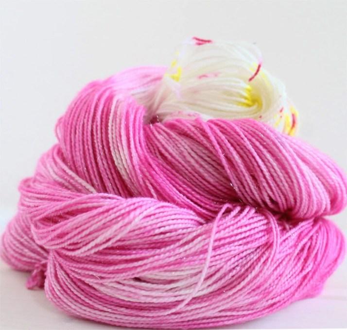 Hand dyed yarn Princess B...