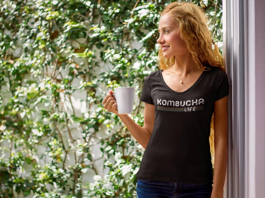 Kombucha Life Shirt Women...