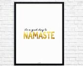 Yoga, Namaste, Yoga Art, ...