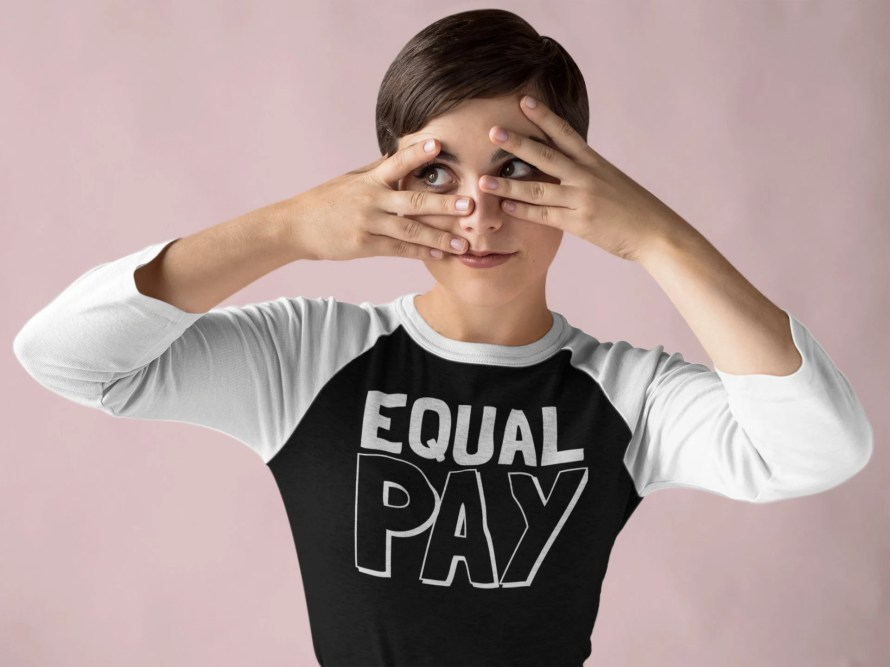 Feminist Shirt, Equal Pay...