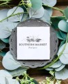Square Tile Coaster Mockup With Front And Back View Add Your Etsy