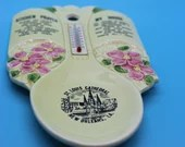 St. Louis Cathedral New Orleans - Vintage Thermometer - Kitchen Prayer