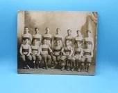 1910 Footbal Champs Original Vintage Photo Photo - Football Memorabilia
