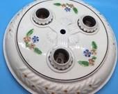 Art Deco Porcelier 1930s Porcelain Ceiling Fixture