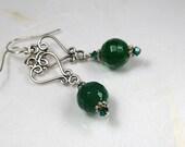 Agate gemstone earrings...
