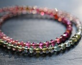 Tourmaline gemstone necklace