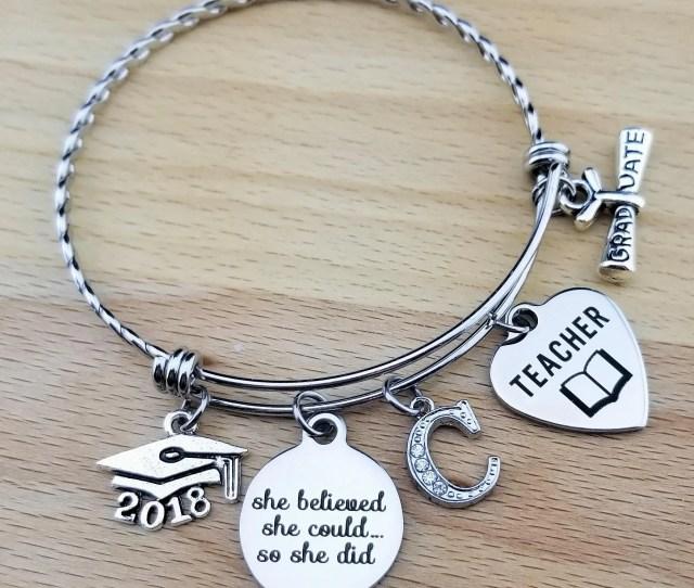 Teacher Gifts Teacher Graduation Gift College Graduation Gift For Her Graduation Gift For Daughter Senior  Senior Gifts She Believed She