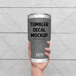 Tumbler Mockup Yeti Decal Mockup Yeti Mockup Yeti Cup Etsy