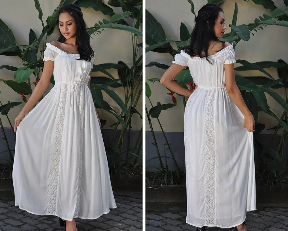 Maternity Dresses White Dress Wedding Dress Summer Dress