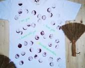 Hand-Painted T-Shirt   Printed Short Sleeve T-Shirt   Men Painted T-Shirt   Round Neck T-Shirt   Short Sleeve T-Shirt