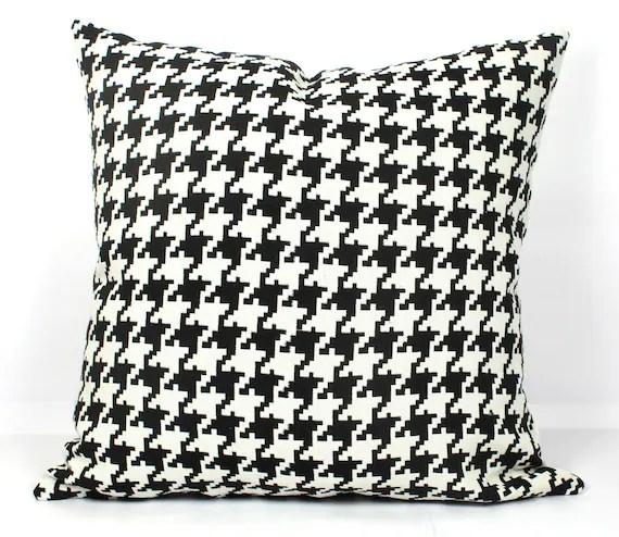 28 x 28 inch cushion covers euro sham pillow covers 26 x 26 throw pillows 18x18 black and white houndstooth sofa cushion cover 20x20