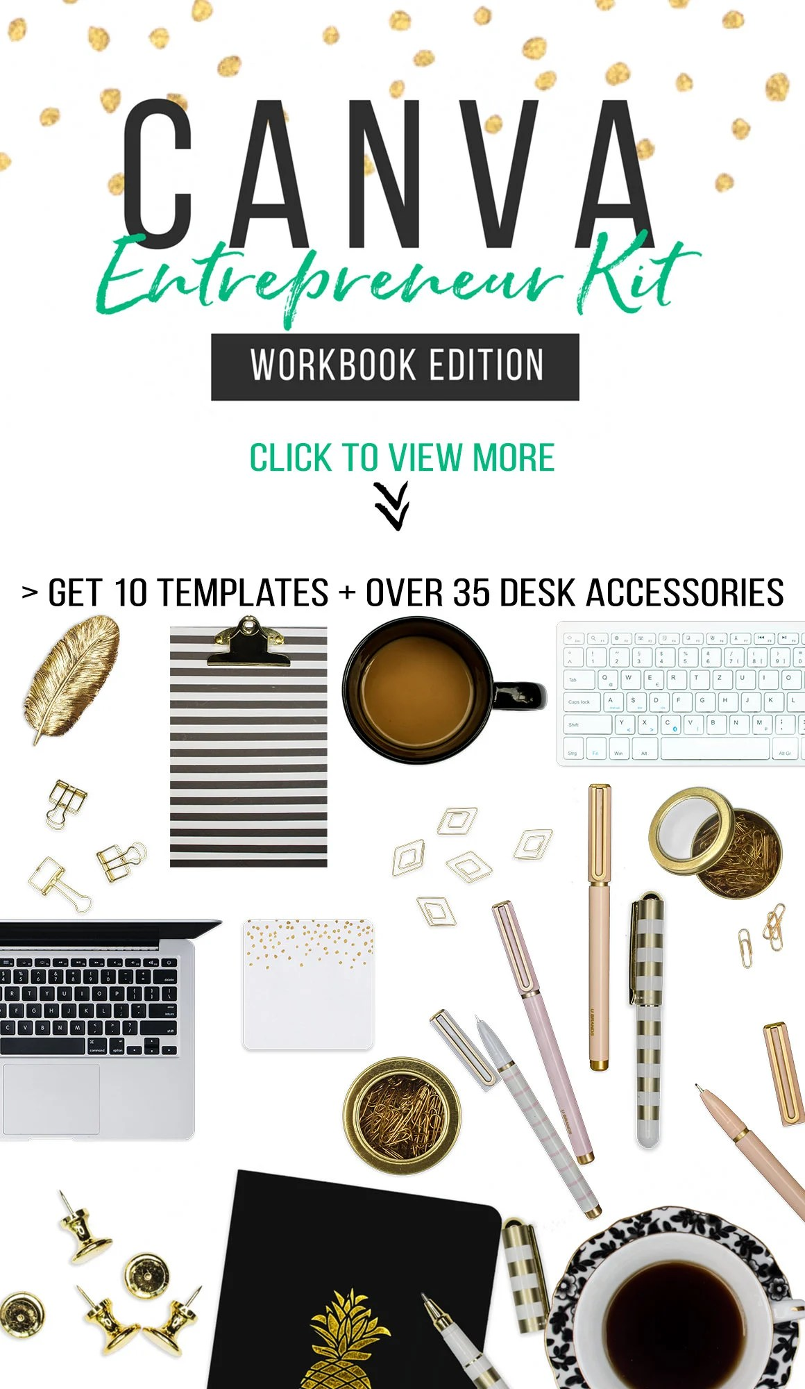 Scene Creator Kit For Canva Worksheet Templates Top View