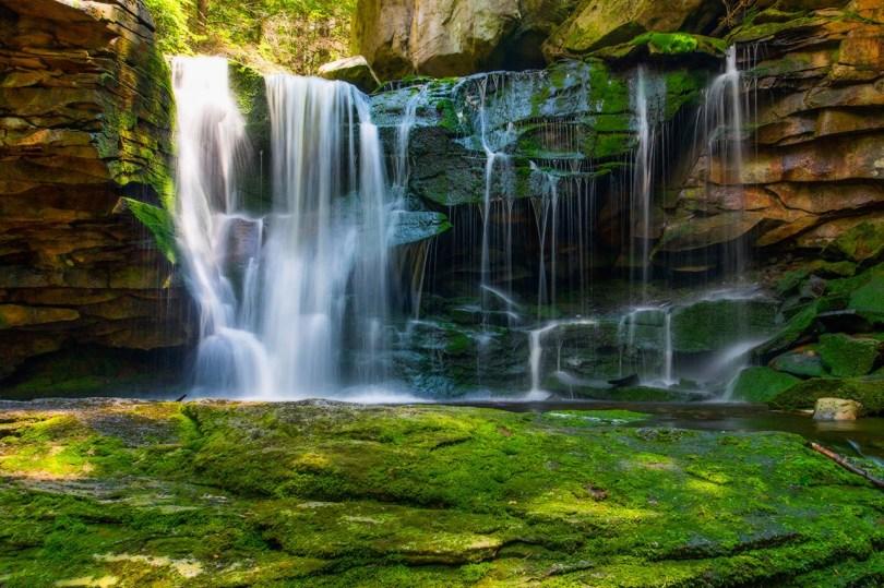 Color Photography - Landscape - Wall Art - Decor - Elakala Falls