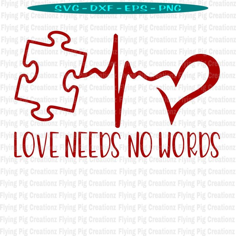 Download Autism svg Autism Awareness svg Puzzle Piece svg Heart | Etsy