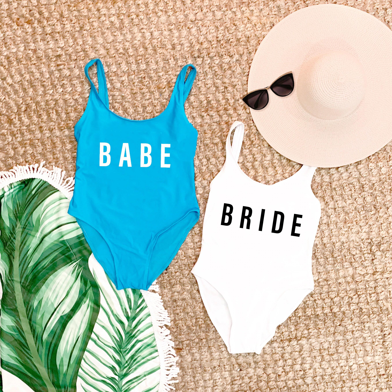 Beach Bachelorette Swimsuits Bathing Suits Honeymoon image 3