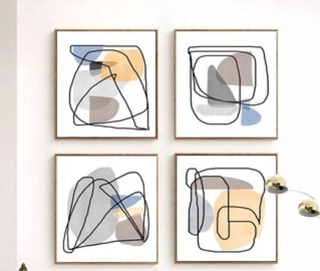 Abstract Art Print Geometric Art Set Of  Prints Minimal Poster Gray Art Downloadable Prints Modern Home Decor  Posters Abstract Artwork