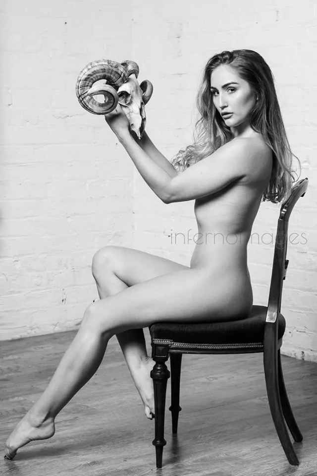 Fine Art Nude Photographic Print Confrontation Silver Gelatin 30x20 Inches Edition Of 10