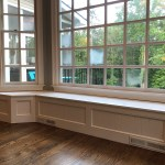 Banquette Bench For A Bay Window Kitchen Seating Shaped Bench Breakfast Nook