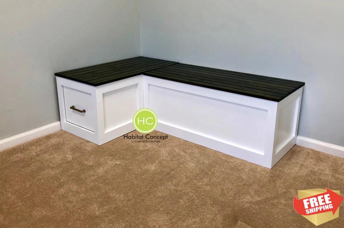 banquette corner bench kitchen seating