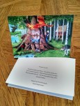 The Learned Cat: a Russian Fairy Tale 5X7 Art Card image 1