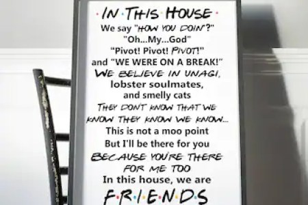 Friends Tv Show Quotes Photo Frame | Allcanwear.org