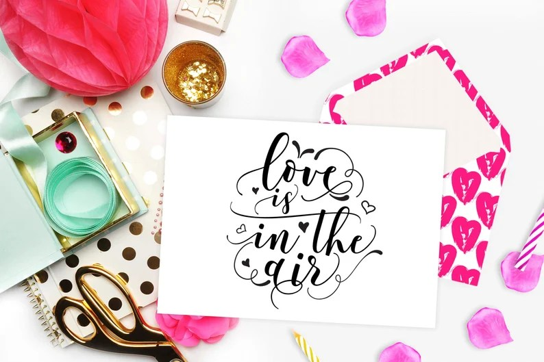 Download Love is in the air svg Valentine's day SVG file for Cricut ...