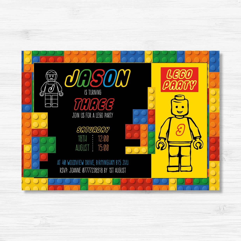 lego birthday invitation lego party invitations lego invite lego invitation lego boy invitation lego birthday lego printable invite