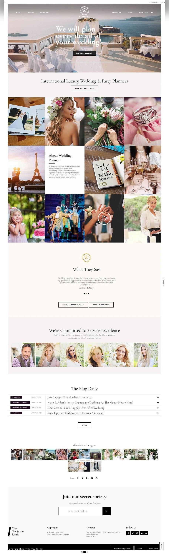 It's actually the most popular use of a wedding website … Wedding Website Template WordPress Design Wedding Website Etsy