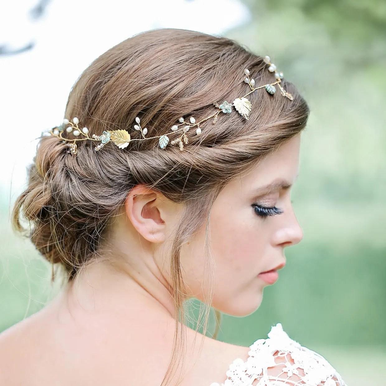 gold vine bridal hair pins crystal hair vine bridal hair pins bridal accessories wedding accessories hair jewellery brides gifts