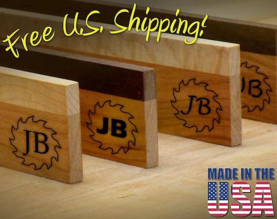 "Branding Iron - 1.5"" Round Custom Initials with Saw for Wood"