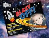 Space Blast Off Printable...