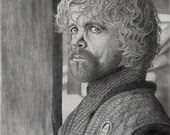 Tyrion Lannister at Winterfell Art Print