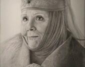 Olenna Tyrell Art Print