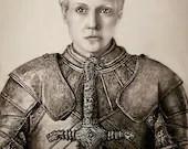 Brienne of Tarth Art Print