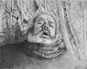 Hodor Holds the Door Original Drawing