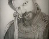 Jaime Lannister Art Print