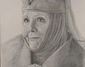 Olenna Tyrell Original Drawing